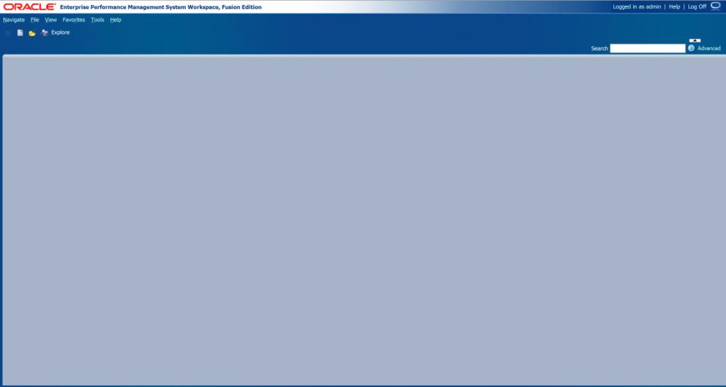 Blank Homepage