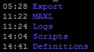 Shell Scripts and Exports I - The Unlocked Cube